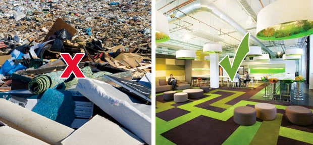 Future Floor Carpet Care has an ongoing commitment to Recycle and Reuse Carpet